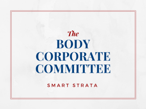 The Body Corporate Committee